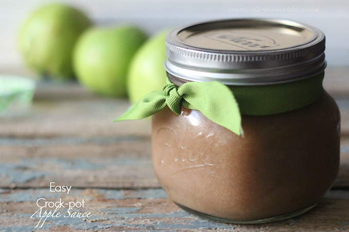 Easy Crock-pot Apple Sauce
