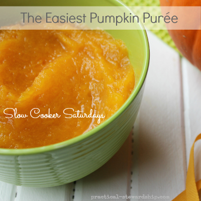 The Easiest Pumpkin Purée