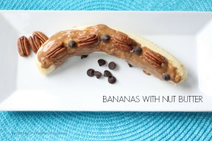 BANANAS WITH NUT BUTTER