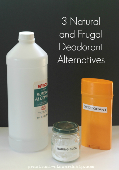 3 Natural Deodorant Alternatives | practical-stewardship.com