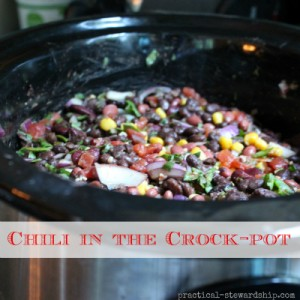 Chili in the Crock-pot