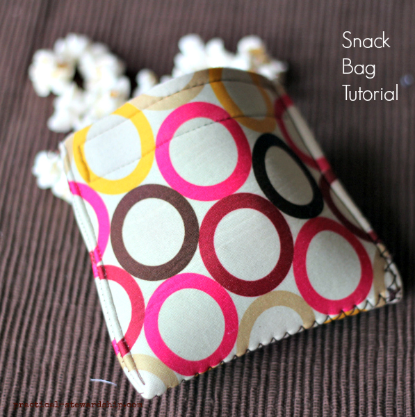 Easy Snack Bag Tutorial