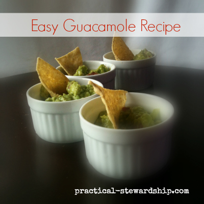 Easy and Tasty Guacamole Recipe