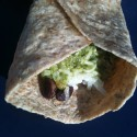 Cilantro Lime Pesto & Black Bean Burrito