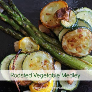 Roasted Vegetable Medley with Asparagus