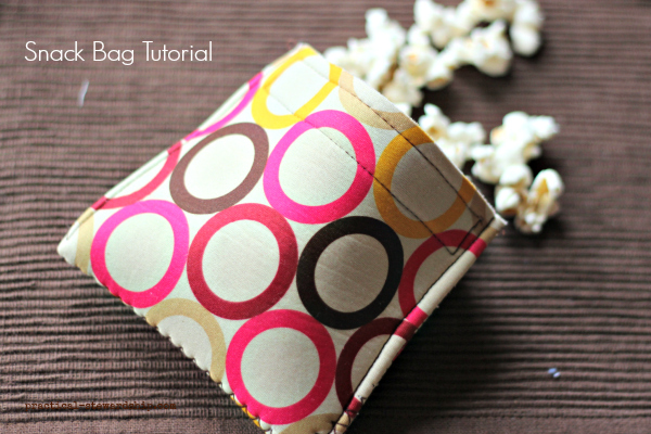 Snack Bag Tutorial