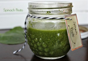 Easy Spinach Pesto