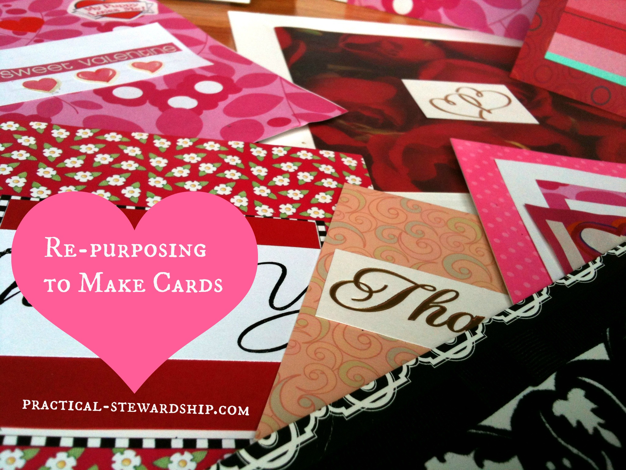 Upcycled & Repurposed Greeting Cards
