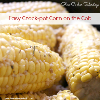 Easy Crock-pot Corn on the Cob