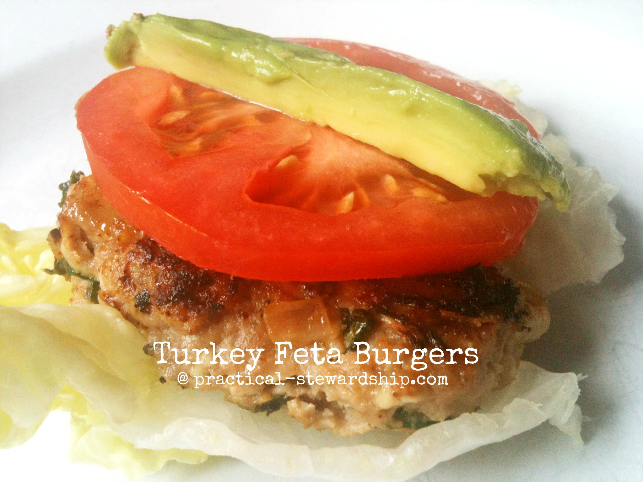 Turkey Feta Burgers