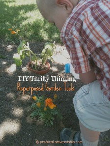 4 Repurposed Garden Tools