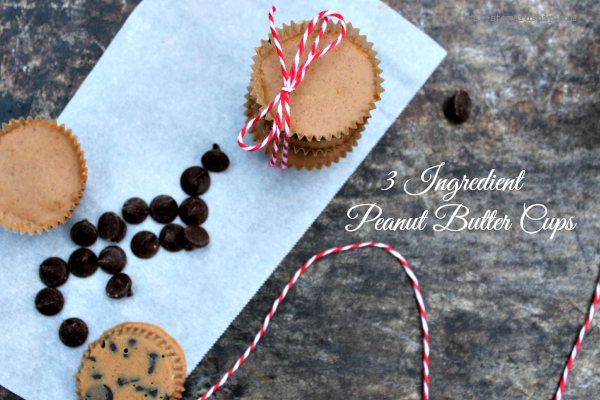 3 Ingredient PB Cups