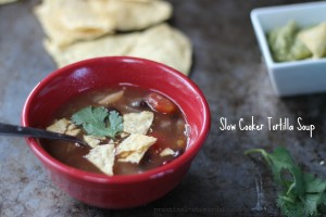 Crock-pot Tortilla Soup