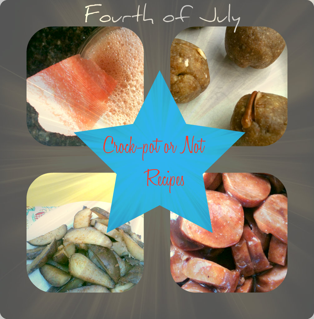 Fourth of July Recipe Collage