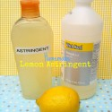 Homemade Lemon Astringent