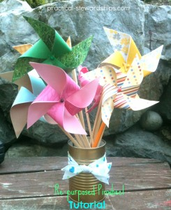 Easy Re-purposed Pinwheel Tutorial