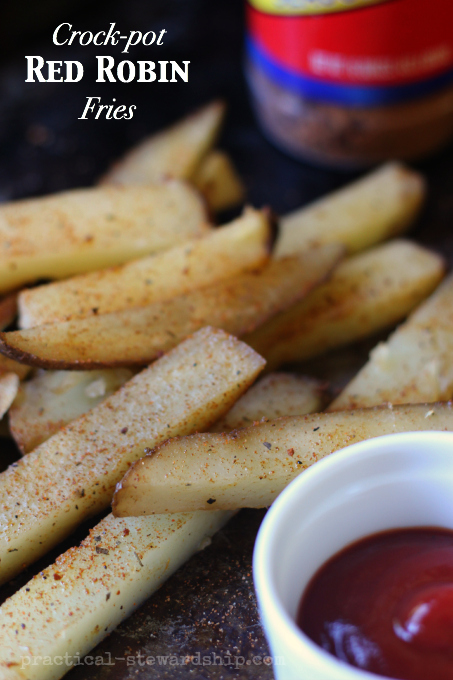Copycat Red Robin French Fries