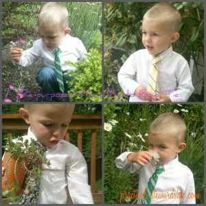 Re-purposed Men's Ties to Boys' Ties