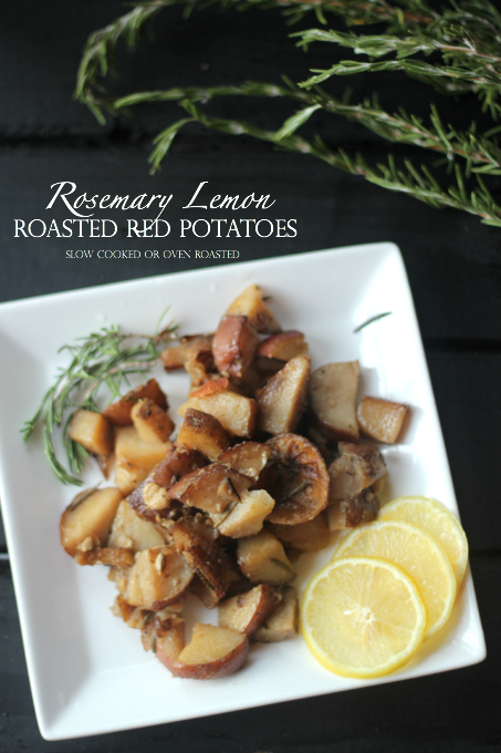 Rosemary Lemon Roasted Red Potatoes