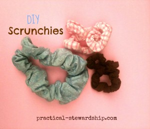 Scrunchies Tutorial
