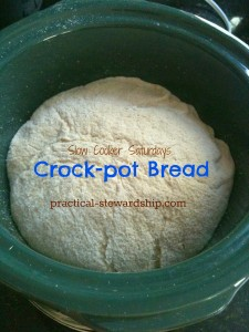 Crock-pot Sourdough Bread Slice