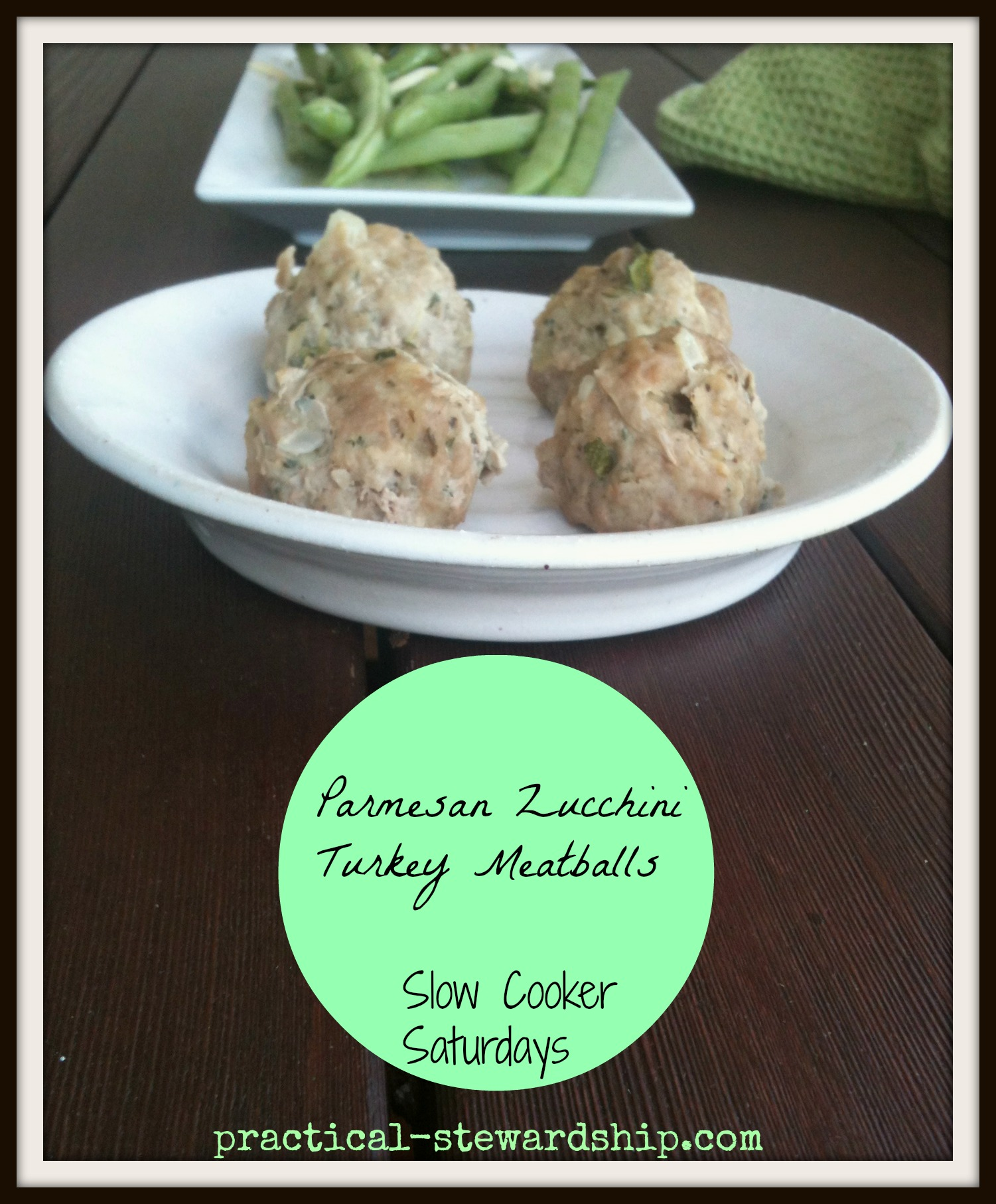 Parmesan Zucchini Turkey Meatballs Crock-pot or Not Recipe