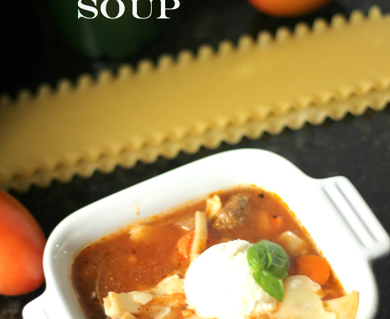 Crock-pot Lasagna Soup Recipe