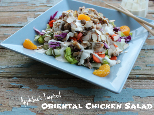 Healthified Oriental Chicken Salad, G-F