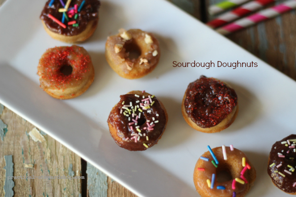 Mini Sourdough Doughnuts Recipe