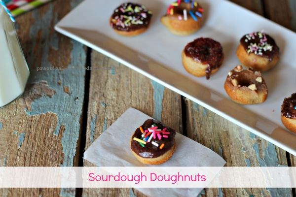 Sourdough Doughnuts
