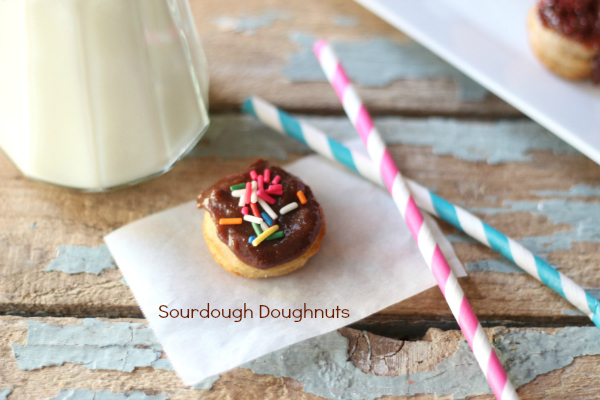 Baked Sourdough Donuts Recipe