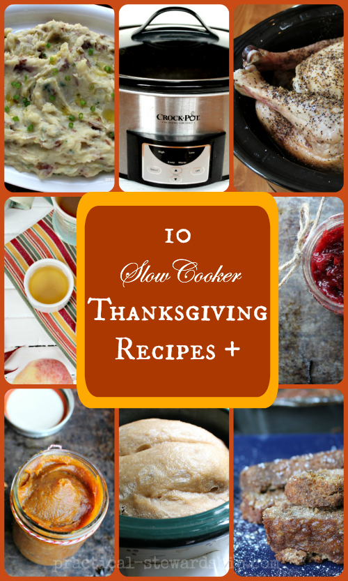 10 Slow Cooker Thanksgiving Recipes +