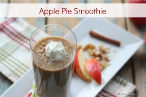 Apple Pie Smoothie with Granola
