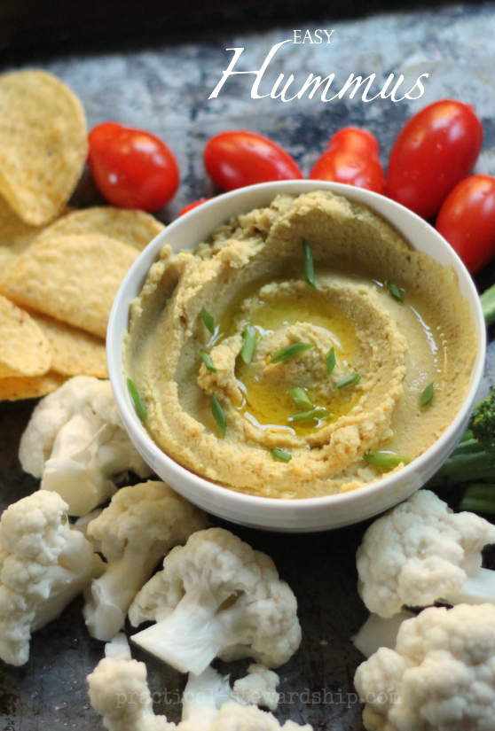Easy and Basic Hummus