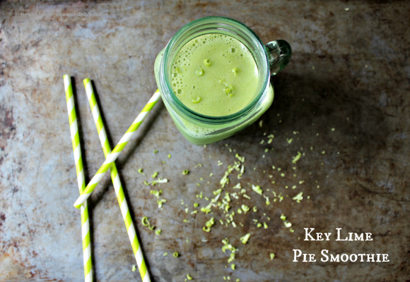 Key Lime Pie Smoothie with Zest