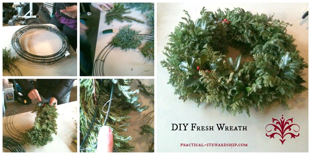 Wreath Collage @ practical-stewardship.com