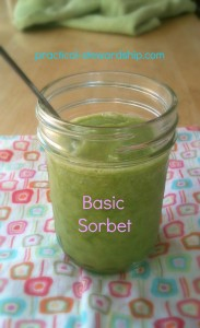 Basic Sorbet @ practical-stewardship.com