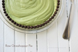 Raw Grasshopper Pie