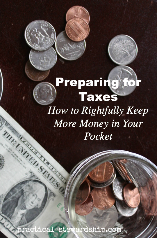 Preparing Ahead for Taxes