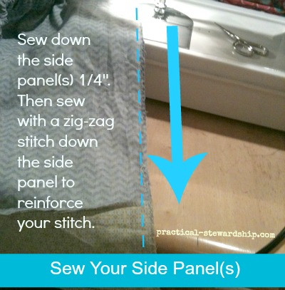 Sew Side Panels