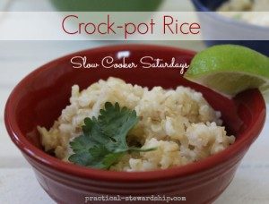 How to Cook Rice in the Crock-pot