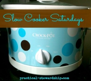 Slow Cooker Saturdays @ practical-stewardship.com