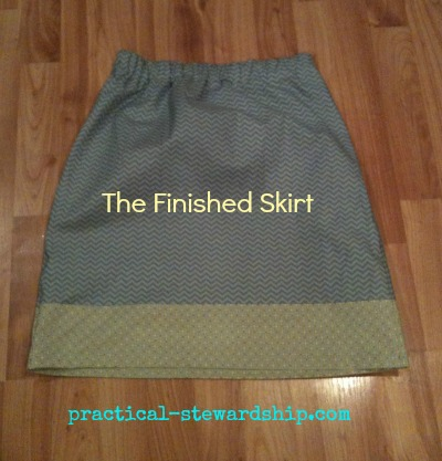 The Finished Easy Elastic Skirt