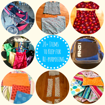 20+ Items to Keep for Re-purposing