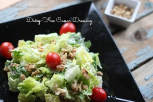 Dairy-Free Caesar Salad Dressing Recipe