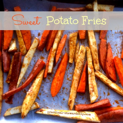 Mixed Sweet Potato Fries