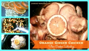 Orange Ginger Chicken @ Slow Cooker Saturdays