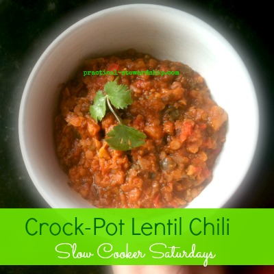 Crock-Pot Lentil Chili Recipe