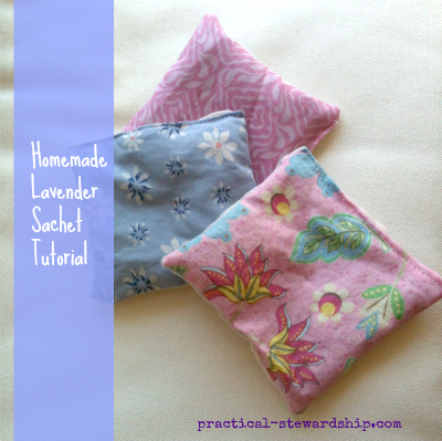 EASY Homemade Lavender Sachet Tutorial