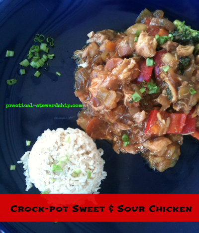 Sweet & Sour Chicken Crock-pot